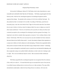 essay response to article how to write a response paper thoughtco