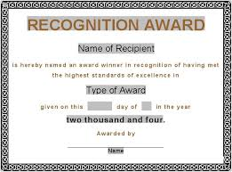 Award Certificates Pdf Sample Of Award Certificate - The Heigths