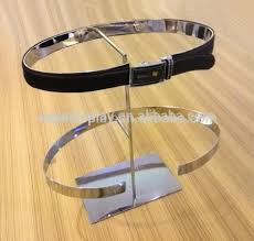 Leather Belt Display Stand Magnificent Portable Leather Belt Display Standdisplay For Belt Metaldisplay