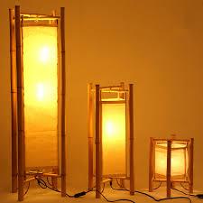 in floor lighting fixtures. Vintage Design Bamboo Floor Lamp Standing Japan Style Light Fixtures Night Stand Lamps For Living In Lighting