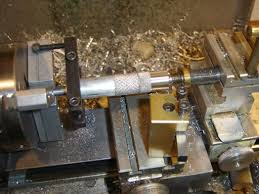 lathe dog. this shows how the lathe dog bears on chuck jaws.