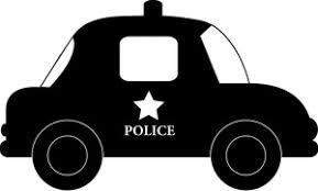 police car clipart black and white. Modren White Police Car Clipart Image Cartoonish Police Car In Black And White With Black And White B