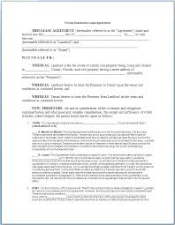 House Rental Agreement Template Lease For Rent Tailoredswift Co