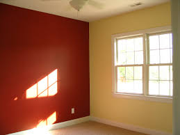 terrific painting a room two diffe colors awesome spacious