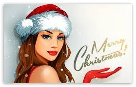 christmas wallpaper hd widescreen santa. Plain Christmas Download Christmas Santa Girl HD Wallpaper Intended Hd Widescreen A