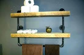 diy pipe shelving shelves shelf kit black iron large size of ideas freestanding industrial wall