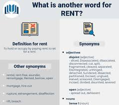 Another Word For Rent Synonyms For Rent Antonyms For Rent Thesaurus Net