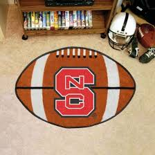 north ina state wolfpack 22 x35 football mat