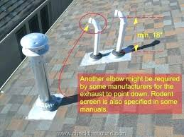 plumbing roof vent. Plumbing Roof Vent How To A Gas Water Heater Through The O
