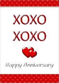 Printable Free Anniversary Cards Printable Anniversary Cards For Her Happy Anniversary Cards