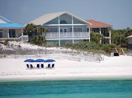 large beachfront homes with private