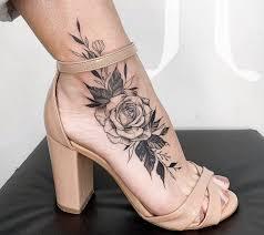 татуировки на ноге картинки