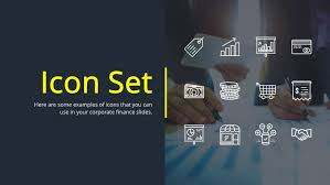 Powerpoint Financial Financial Powerpoint Icon Set Free Icons For Presentations