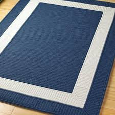 navy outdoor rug canada blue striped solid