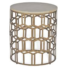 round wire side table home decorating ideas interior design