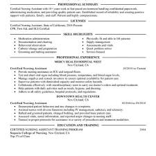 Cna Resume Examples Stunning Unforgettable Nursing Aide And Assistant Resume Examples To Stand