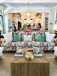 Southern Living Idea House Family Room Sofa Emily A Clark Awesome Southern Living Room