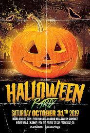 Costume Contest Flyer Template Halloween Pumpkin Party Free Psd Flyer Template Freepsdflyer