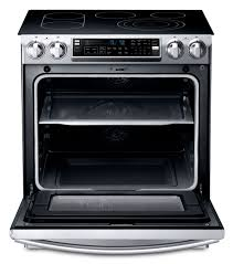 samsung induction range. samsung stainless steel slide-in electric convection range (5.8 cu. ft.) - ne58f9710ws induction