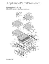 lg refrigerator drawer replacement. part diagram lg refrigerator drawer replacement l