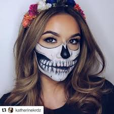 candy skull makeup inspo makeup so in this season topped with velour lashes of