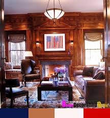 Family Room Wood Paneling