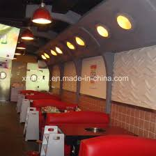acoustic sound absorption 3d panel for hotpot restaurant wall decoration