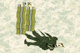 Image result for fundraising soldiers sporting charity events cartoon