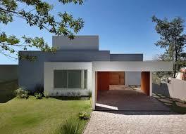 Modern Minimalist House Looks Front
