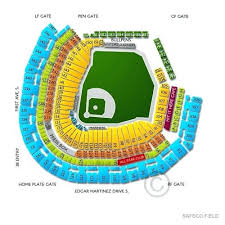 Progressive Field Seating Chart With Seat Numbers Uncommon Mariner Seating Chart Progressive Field Seating