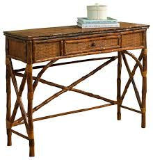 rattan console table. Brilliant Rattan Console Table And English Antiqued Tortoise Tropical