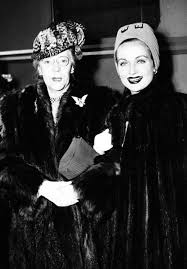 Carole Lombard and her mother Elizabeth 'Bessie' Peters, in Chicago during  a defense bond campaign t…   Carole lombard, Elizabeth peters, Carole  lombard clark gable
