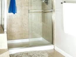removing sliding shower door with bottom glides creative shower door tracks pictures also bottom glides sterling