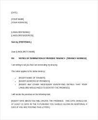 39 sle notice letter to tenant to
