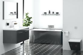 white bathroom flooring. white bathrooms with dark floors staggering a minimalist bathroom detailed tile flooring comprised of .