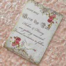 Red Save The Date Cards Vintage Save The Date Cards Dove And Red Roses Ref 82 Set Of 10