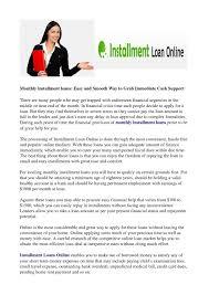 Easy Money Loan Chart