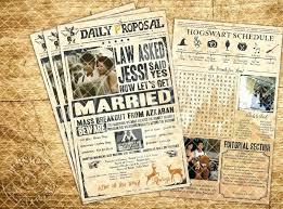 Wedding Invitation Newspaper Template Creations Vintage Newspaper Wedding Invitation Creations