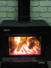 how to clean fireplace or wood heater glass