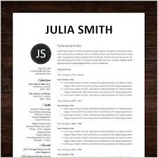 Resume Templates For Pages Awesome Collection Of Free Resume
