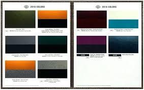 Harley Davidson 2019 Color Chart Image 0 Harley Davidson Colors 2017 Breakout Boys Name