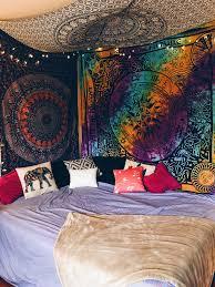 Hippie Design Bedroom Guest Bedroom Bedroom Decor Hippy Room Grunge Bedroom