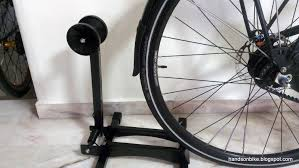 The RAKK bike stand is not suitable to be used on the rear wheel of the  Avanti, as I have installed a rear fender. The rear fender is quite long  and covers ...