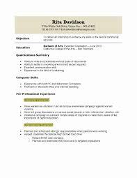 Resume format for Arts Graduate Lovely Resume Template Graduate] Graduate  Web Developer Cv Sample