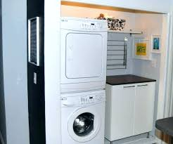 double stack washer and dryer. Double Stack Washer And Dryer Cabinets Storage Furniture Saving Small Spaces Laundry Stackable Cabinet Closet . Ideas Extraordinary Washers