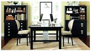 home office with two desks. Double Office Desk Home Green By Via Furniture Ideas . With Two Desks T