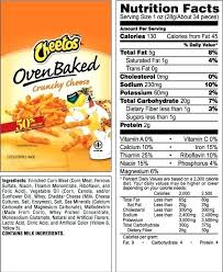 food label for cheetos nachos doritos nutrition facts label food for nutrition label for cheetos 30710