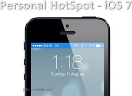 Fix iOS 7 Missing Personal HotSpot Feature iPhone – iPad