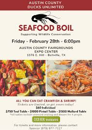 Austin County Seafood Boil ...