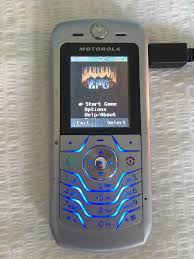 motorola old mobile phones. sorting through old stuff and found my motorola l6 phone with doom on it. mobile phones